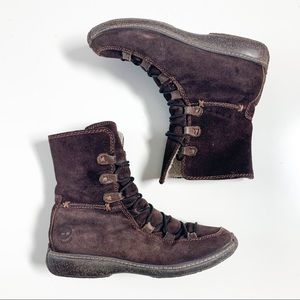 Timberland genuine leather lounger mukluk boots